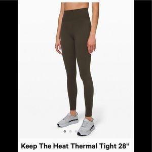 Lululemon Keep the heat Thermal Tight